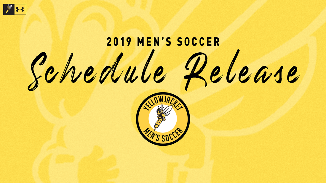 Yellowjackets to Take on Challenging 2019 Men's Soccer Schedule